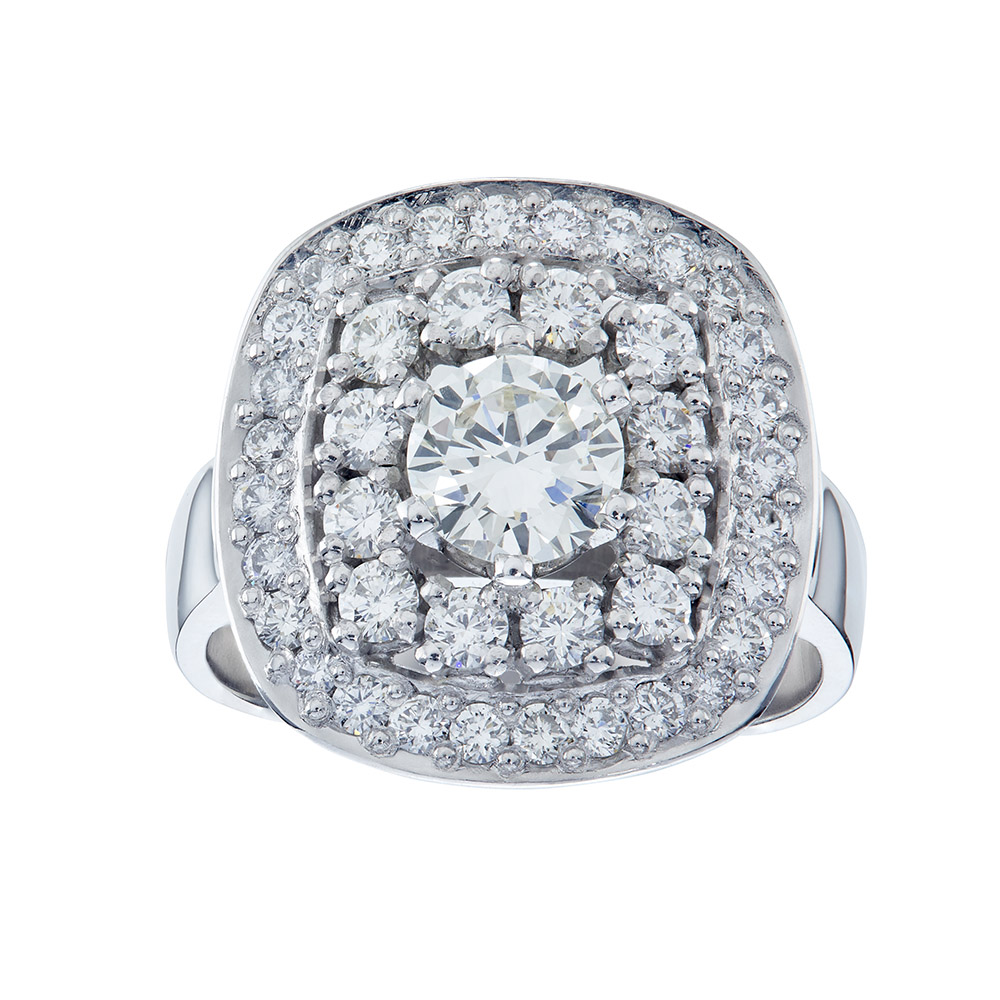 Halo-Set-Diamond-Ring-bespoke-design-brettland-poulsen-jewellery-la-lucia-mall-durban-north